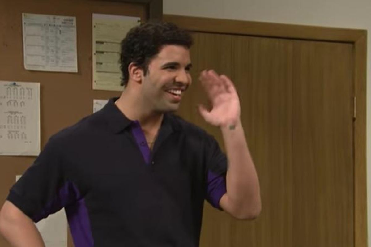 Watch Drake In An Unaired SNL Skit