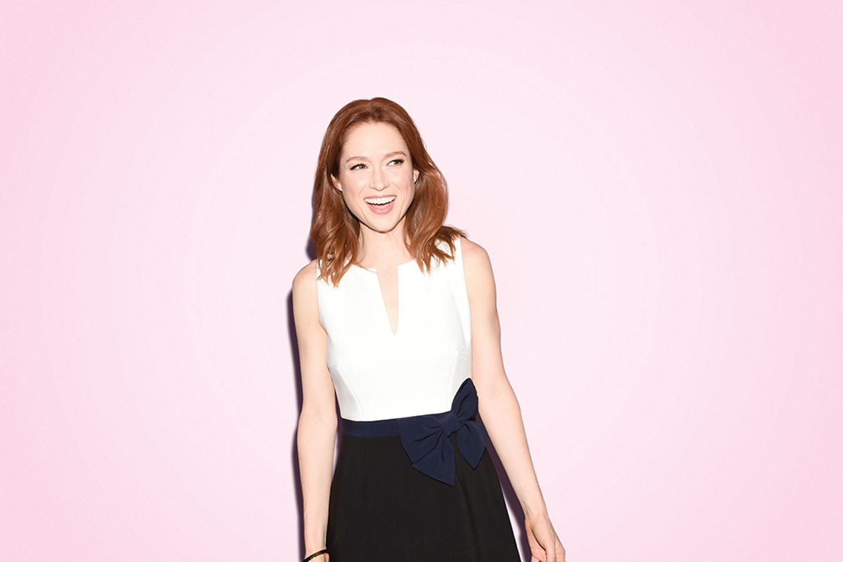 "Ellie Kemper On Bumping Into ""Kimmy Schmidt"" Fans At Mass"