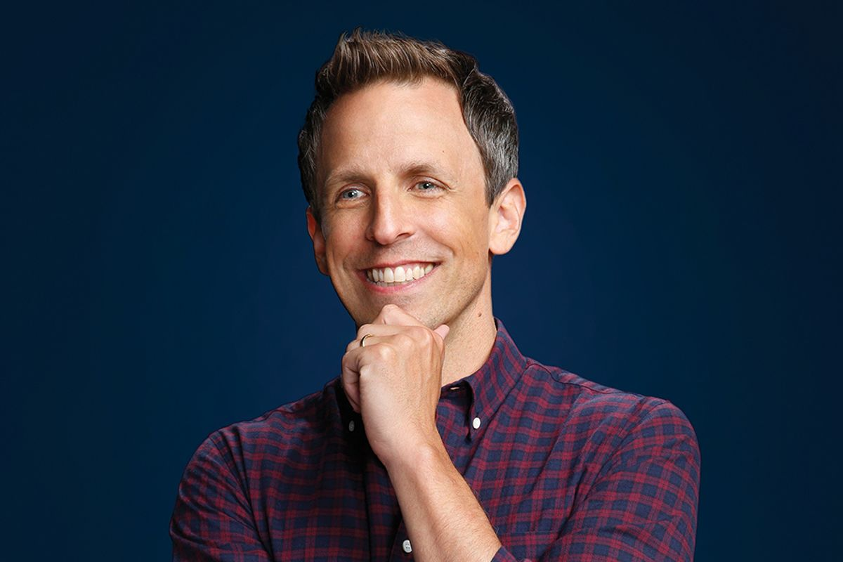 """Seth Meyers On Comedy Idols and His """"Ballerina's Arches"""""""