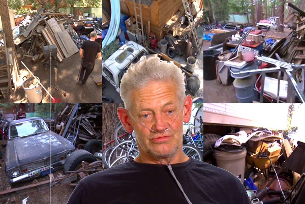 Buried Alive—Geoffrey's Extreme Hoarding Means He May Lose ...