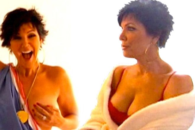 Kim kardashian's sex tape to be outshined by kris jenner's