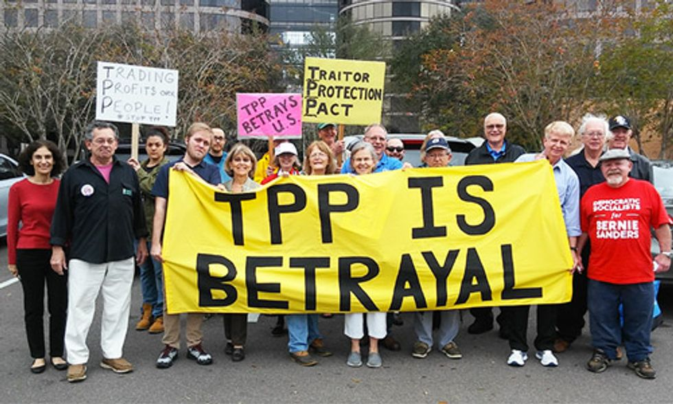 Mark Ruffalo: TPP Would Fuel Climate Chaos and Empower Corporate Polluters