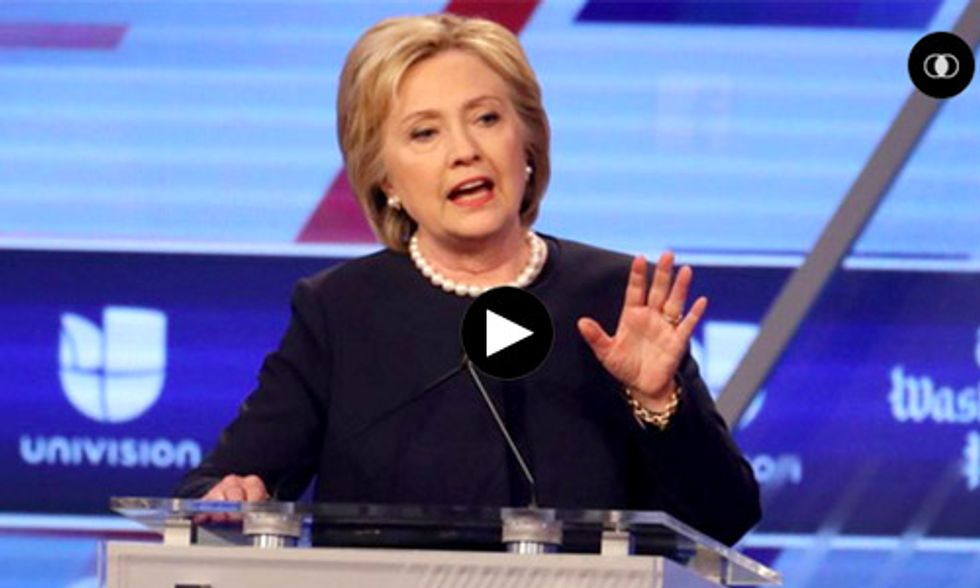 How Much Money Has Hillary Clinton's Campaign Taken From the Fossil Fuel Industry?