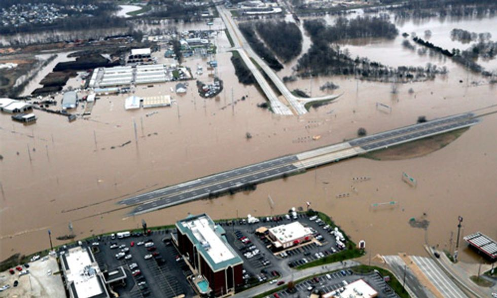 Climate Change + Population Growth + Economic Expansion = More Severe Flooding