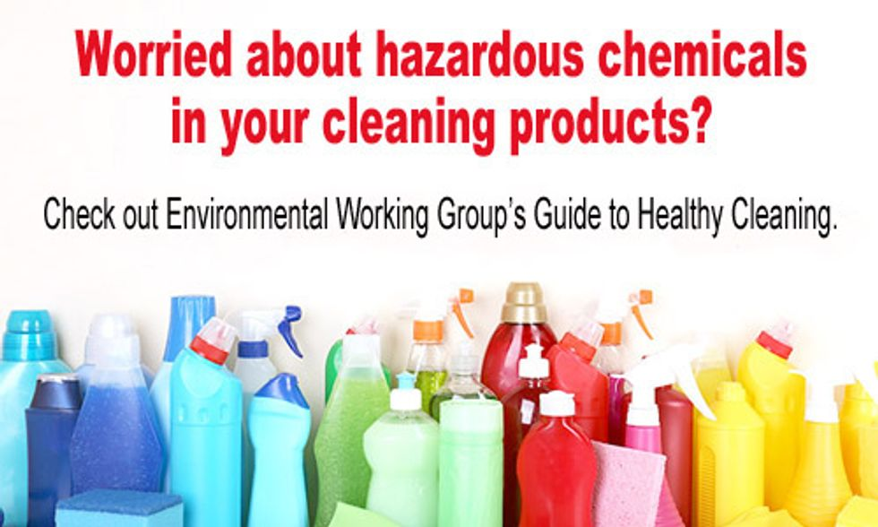 Online Database Tells You if the Cleaning Products You Bring in Your Home Are Toxic