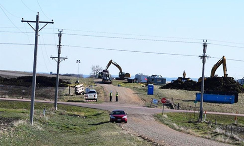 Keystone Pipeline Shut Down After Oil Spill in South Dakota