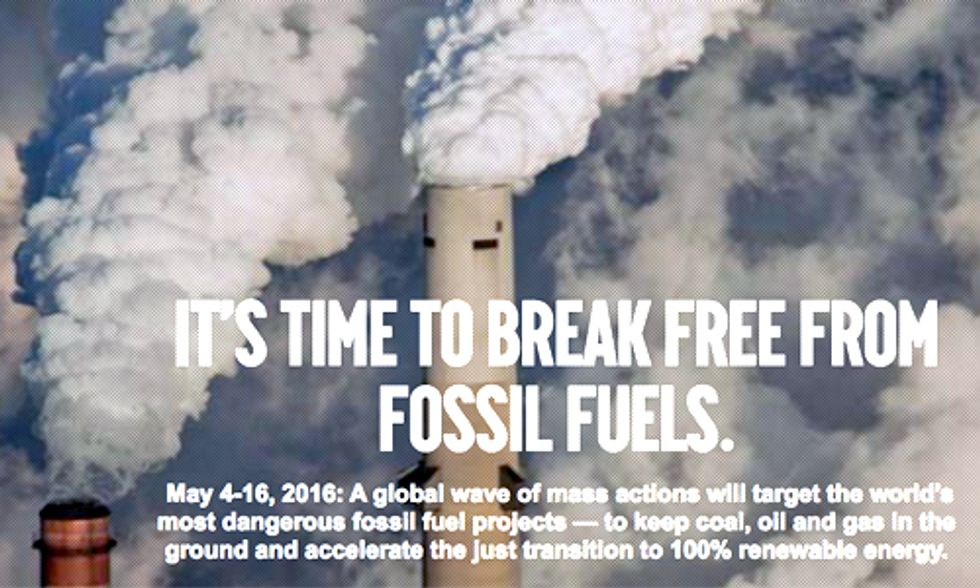 Bill McKibben: It's Time to Break Free From Fossil Fuels