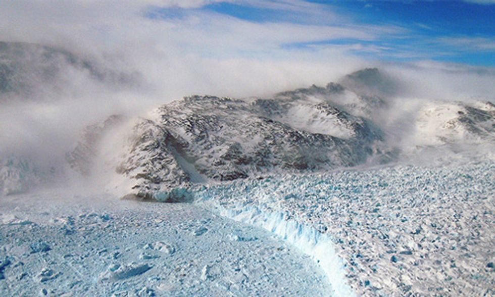Greenland's Ice Melt Breaks Record, Starting Nearly Two Months Early