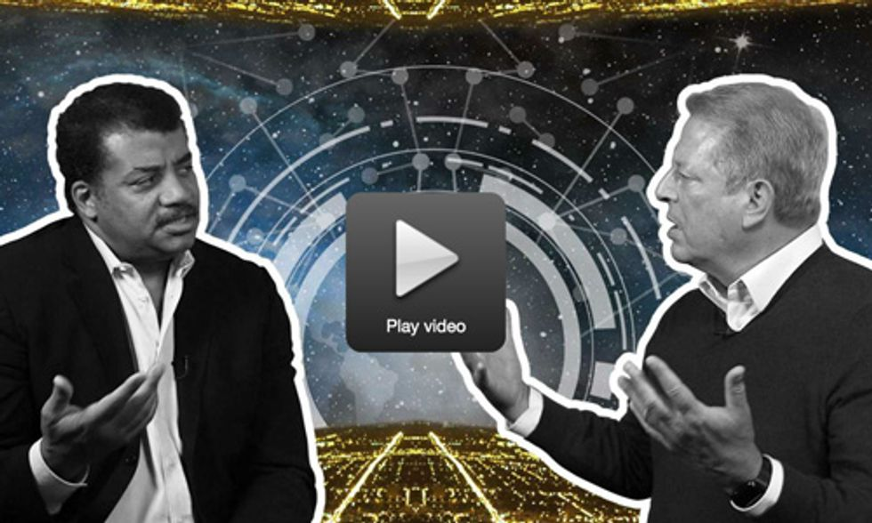Al Gore and Neil deGrasse Tyson Talk the Future of Our Planet