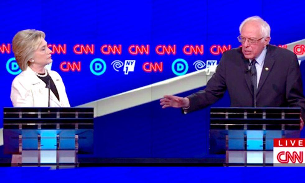 Democratic Debate Brings Fiercest Exchange Yet on Climate Change, Fracking