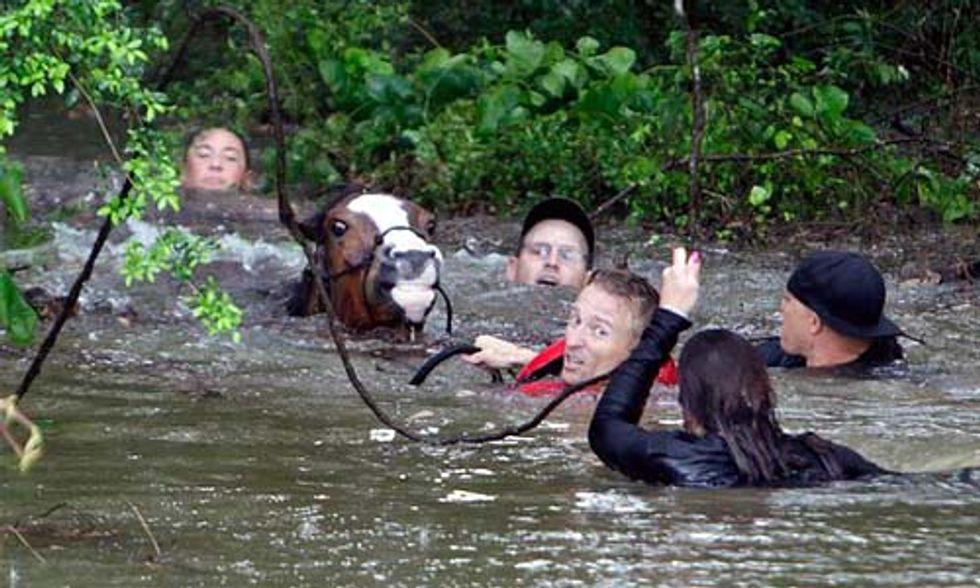 Historic Rainfall Slams Houston