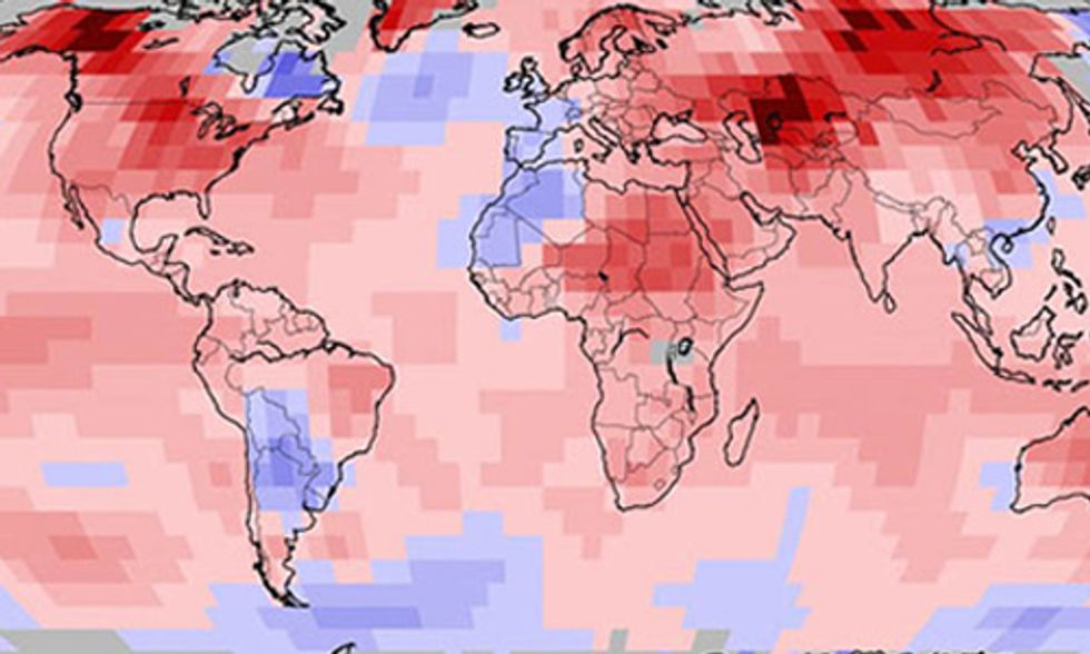 NOAA: Last Month Was by Far the Planet's Warmest March Since Record Keeping Began