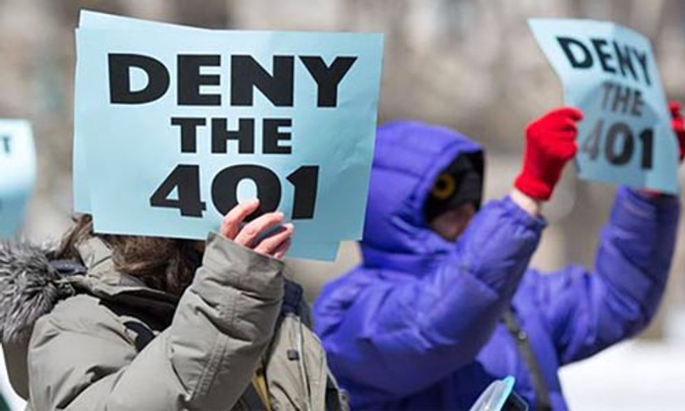 Cuomo's Next Step Against Fracking: Reject the Constitution Pipeline