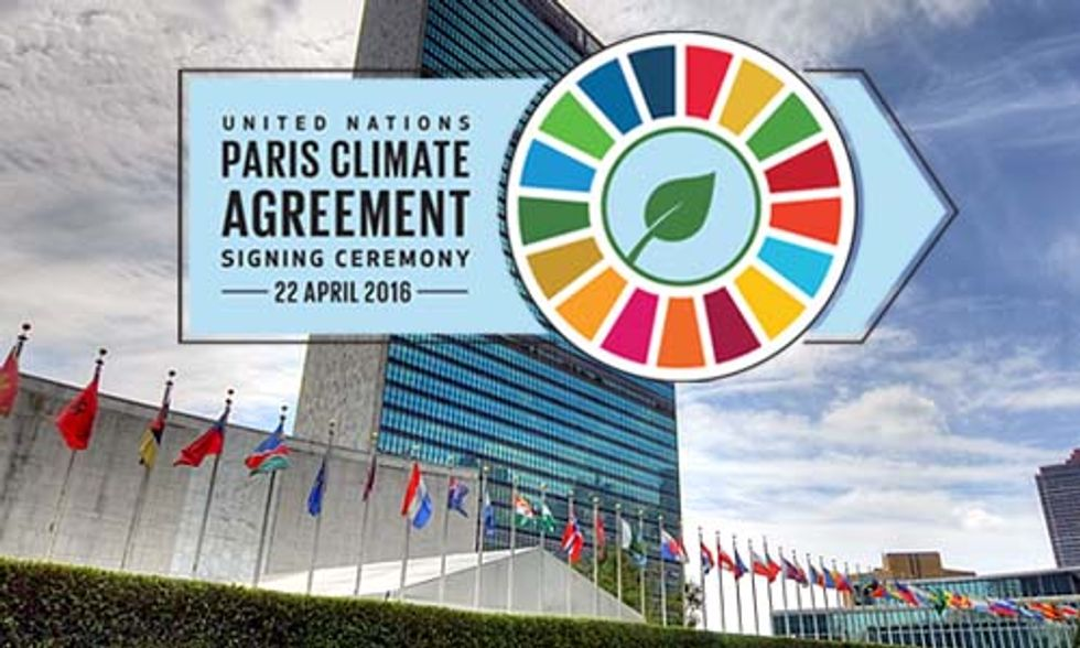 WATCH LIVE: Paris Climate Agreement Signing Ceremony