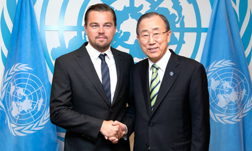 Leonardo DiCaprio: The World Is Now Watching