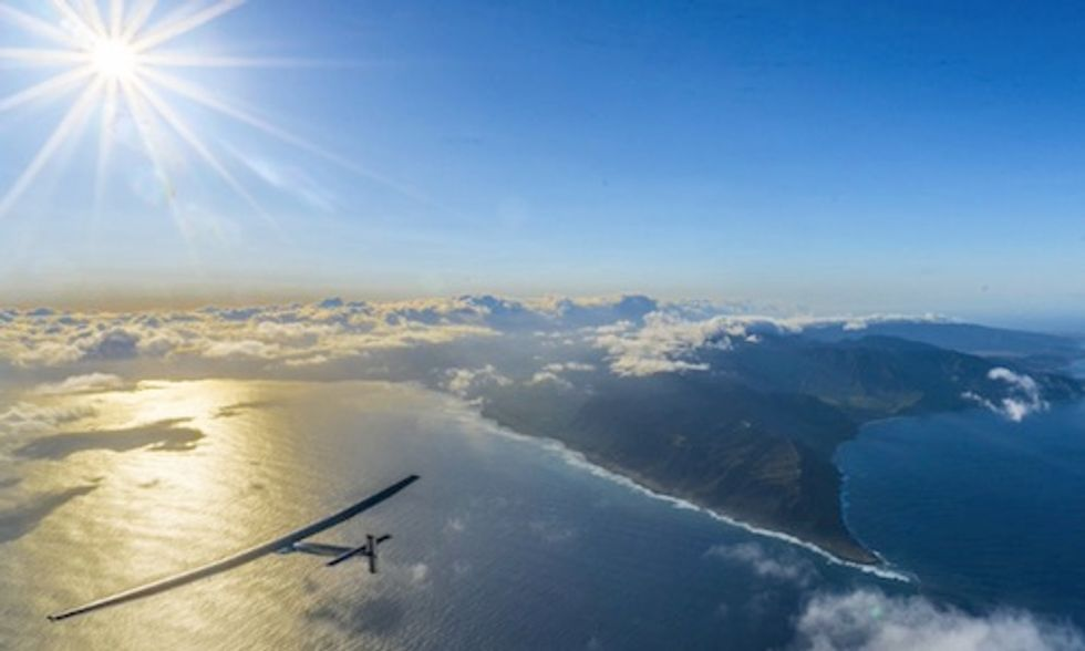 Solar Impulse Pilot: 'I Flew Over Plastic Waste As Big As a Continent'
