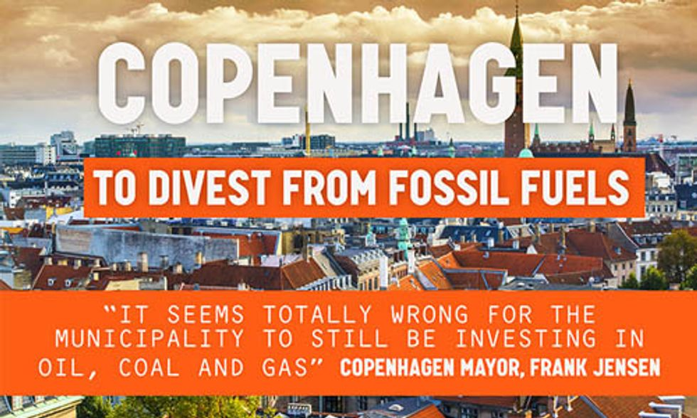 Copenhagen to Divest From Fossil Fuels