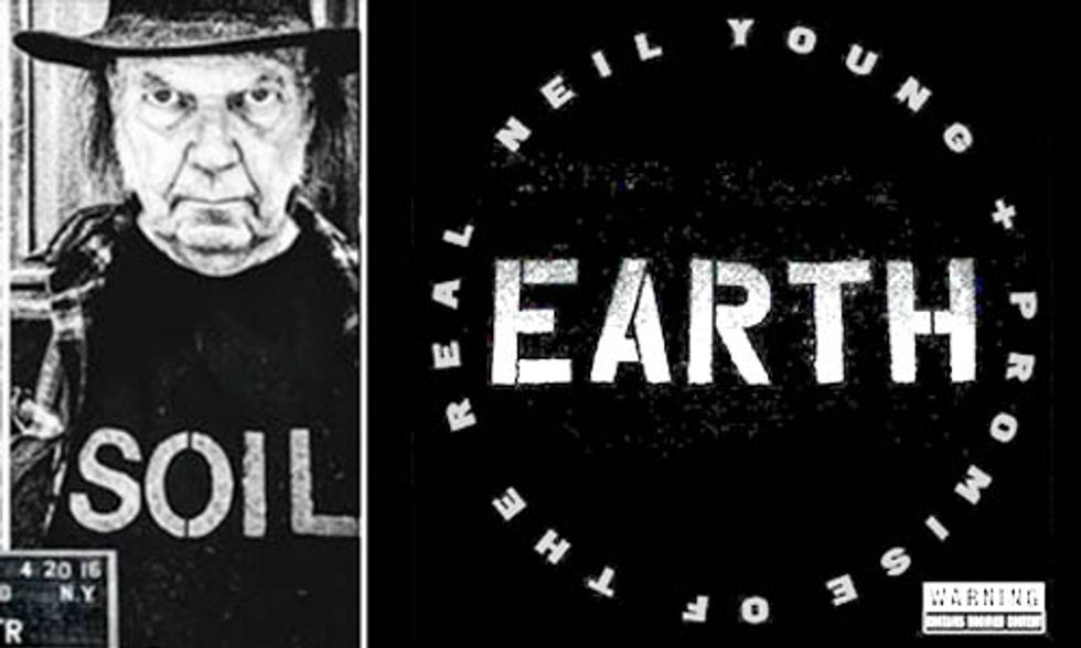 Neil Young's New Album EARTH Breaks All the Rules