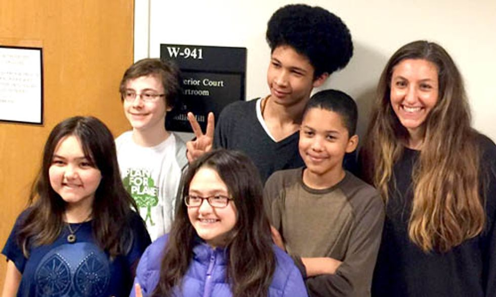 Massive Victory for 7 Kids in Climate Change Lawsuit in Washington State