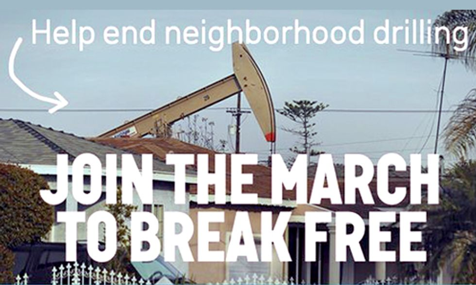 It's Time to #BreakFree LA and Go 100% Renewables