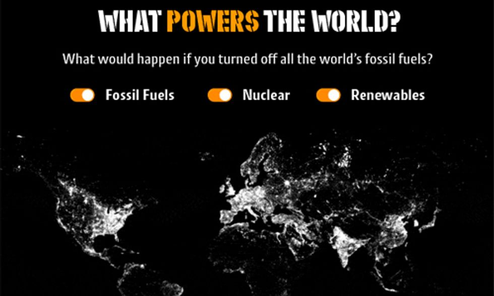 Interactive Map Shows What Powers the World