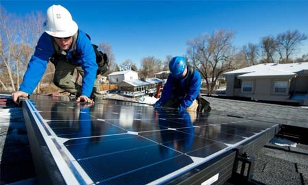 With Clean Energy Jobs Booming in Republican Districts, It's Time to Recalibrate Climate Politics