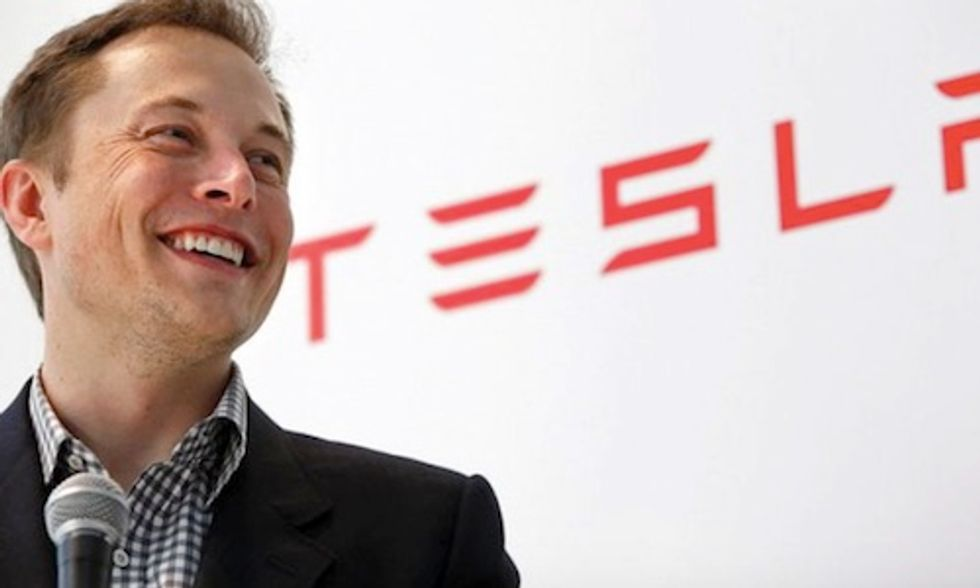 Elon Musk: We Must Revolt Against the Unrelenting Propaganda of the Fossil Fuel Industry