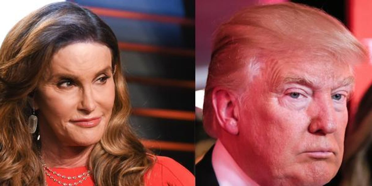 Caitlyn Jenner Endorses Donald Trump For Women's and LGBT Rights.