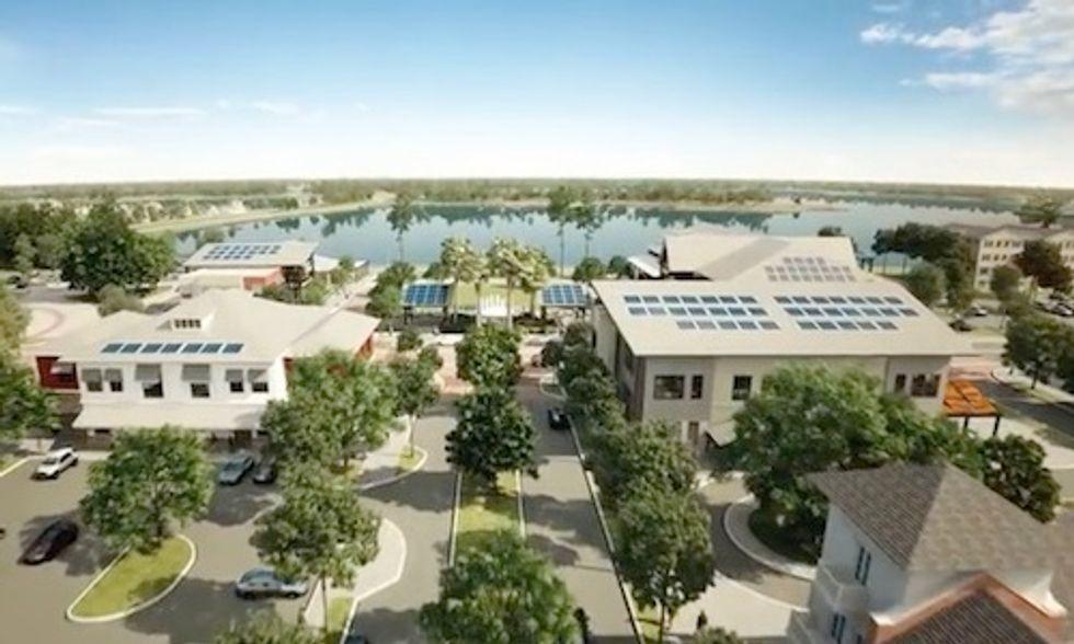 'World's Most Sustainable City' to Run on 100% Solar
