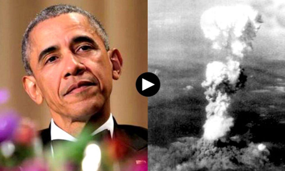 Obama to Make Historic Visit to Hiroshima as U.S. Quietly Upgrades Nuclear Arsenal