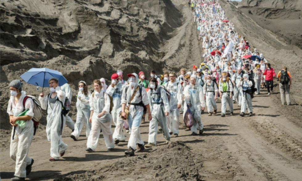 Tens of Thousands Take Part in Global Actions Targeting World's Most Dangerous Fossil Fuel Projects