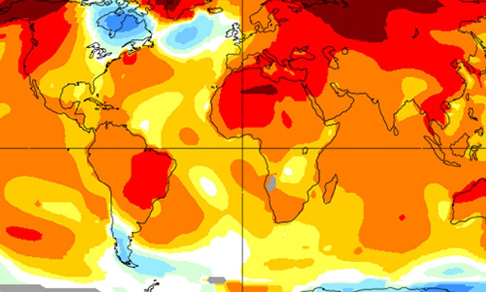 NASA: Last Month Was Warmest April Ever Recorded, Marking Seven Months of New Highs