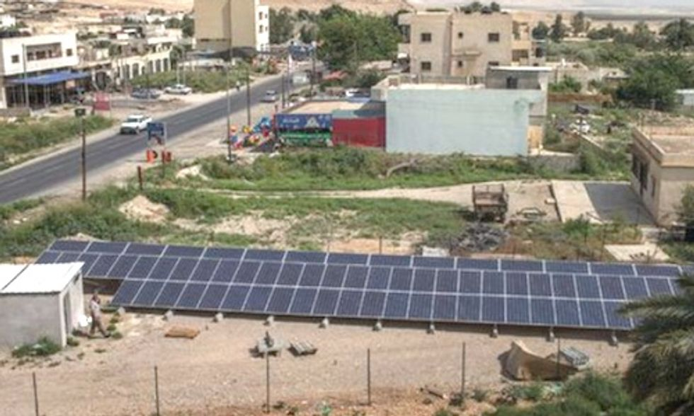 West Bank Solar Project Unites Muslims and Jews