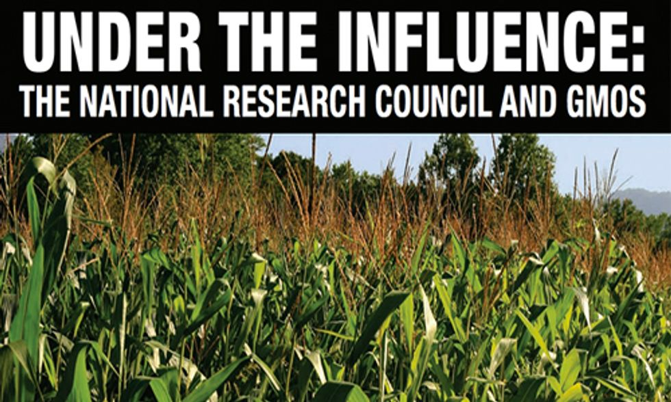 National Research Council GMO Study Compromised by Industry Ties
