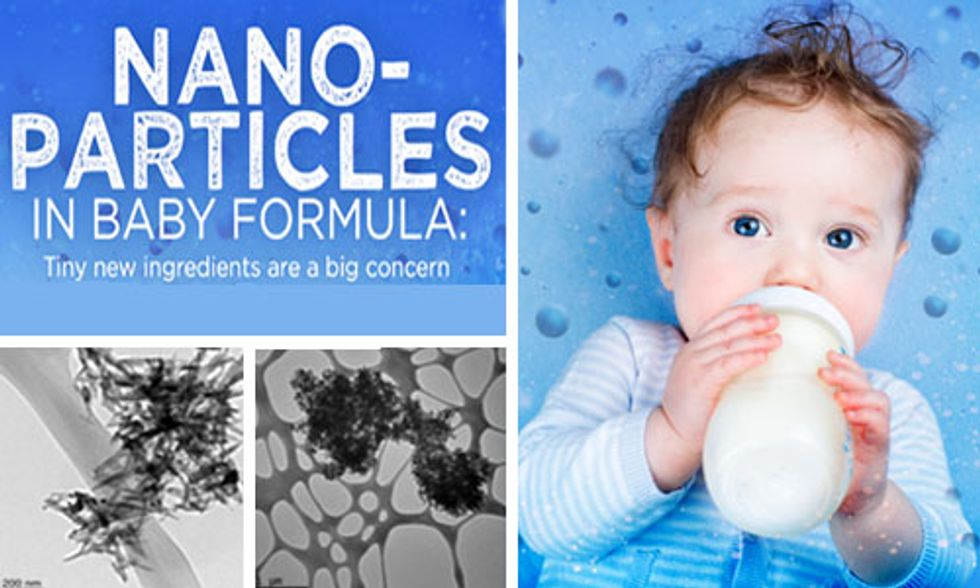 Should Parents Be Worried About Nanoparticles in Baby Formula?