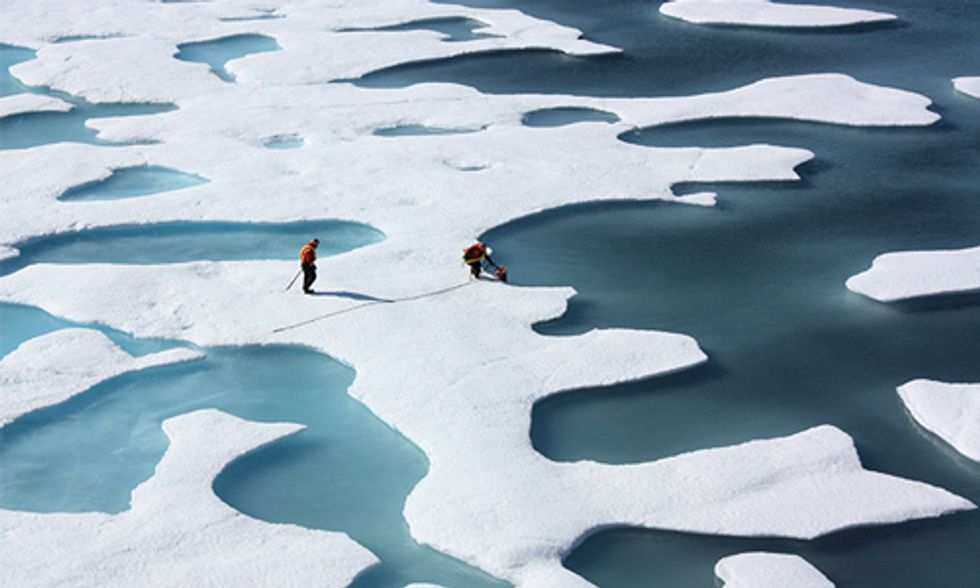 Will the Arctic Be Ice-Free Within the Next Two Decades?