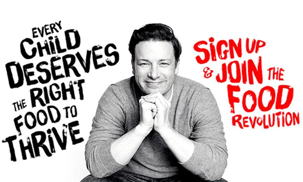 Join Jamie Oliver's Food Revolution