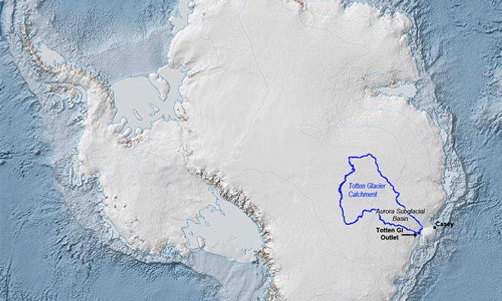 Scientists Confirm Fears About East Antarctica's Biggest Glacier