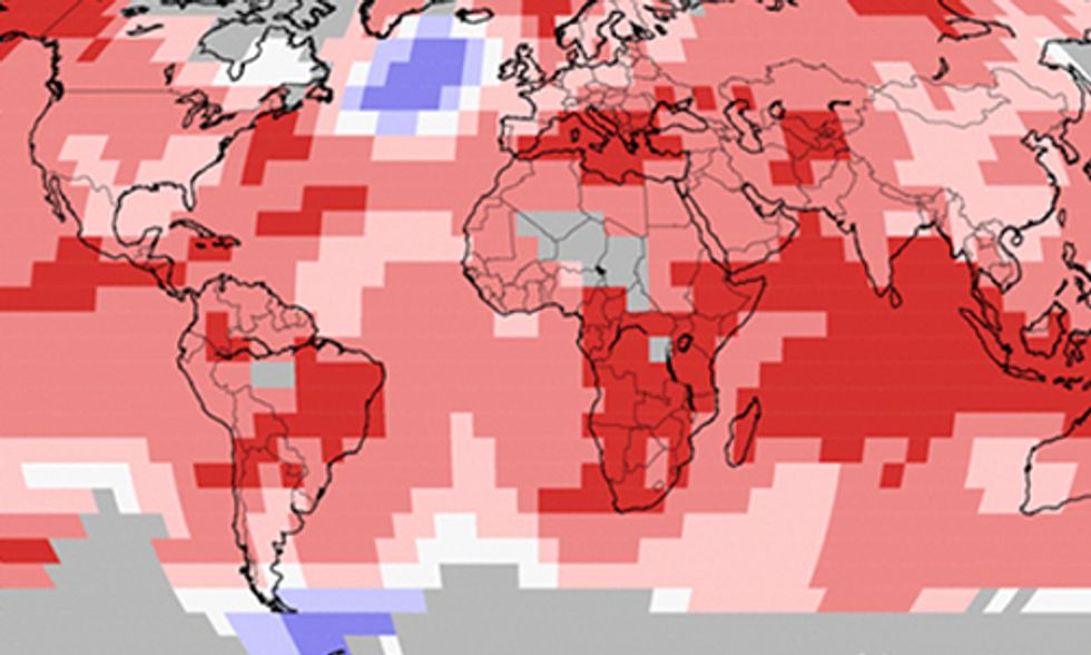 Earth Sees Record Warming for 12 Straight Months