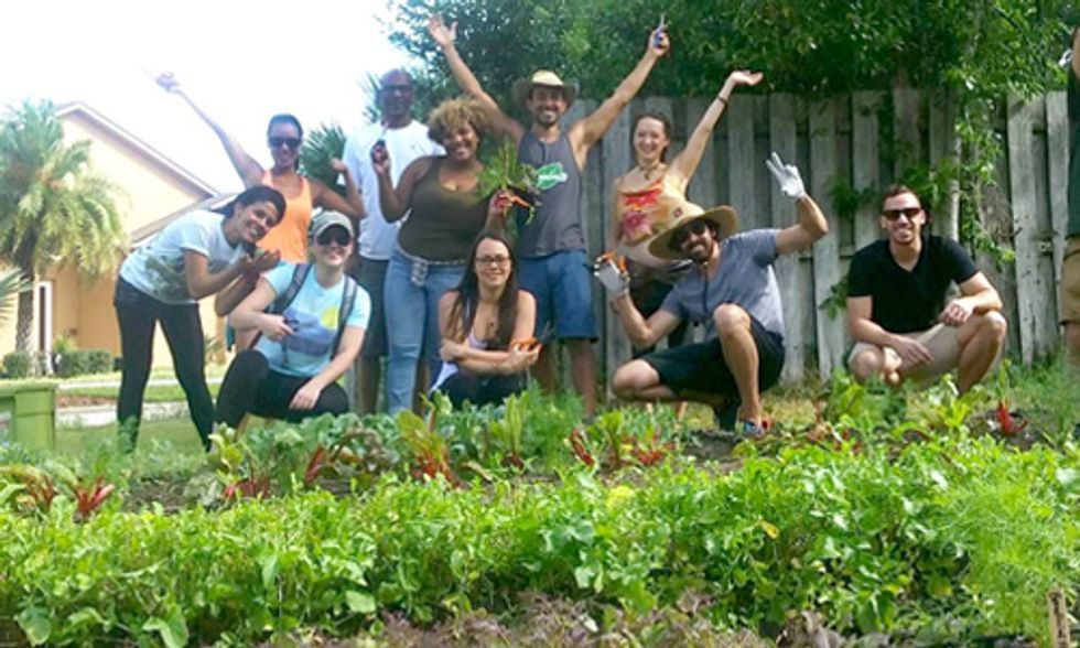 Bike-Powered Farming Program Turns Lawns Into Urban Farms