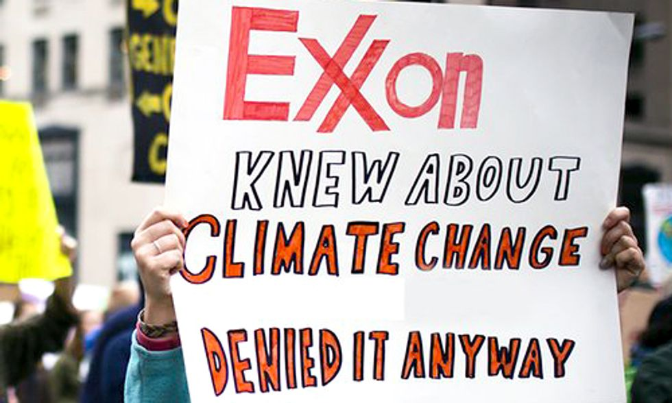 13 House Reps Sent Letters to 17 Attorneys General and 8 NGOs Defending Exxon