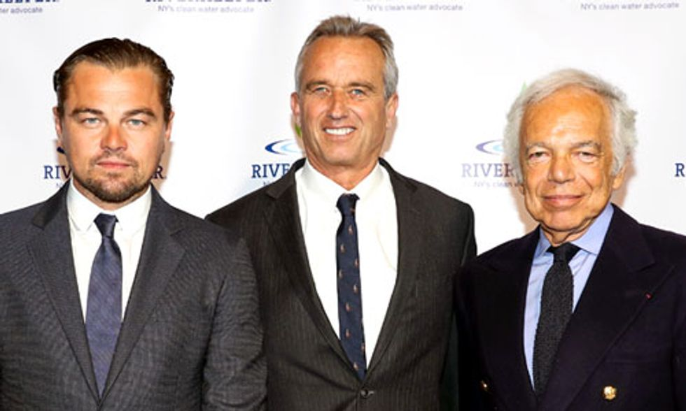 Leonardo DiCaprio, Ralph Lauren Recipients of 'Big Fish' Award at Riverkeeper's Fishermen's Ball
