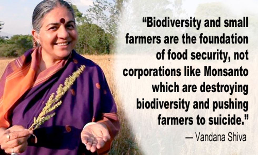 Vandana Shiva: Small Farmers Are Foundation to Food Security, Not Corporations Like Monsanto