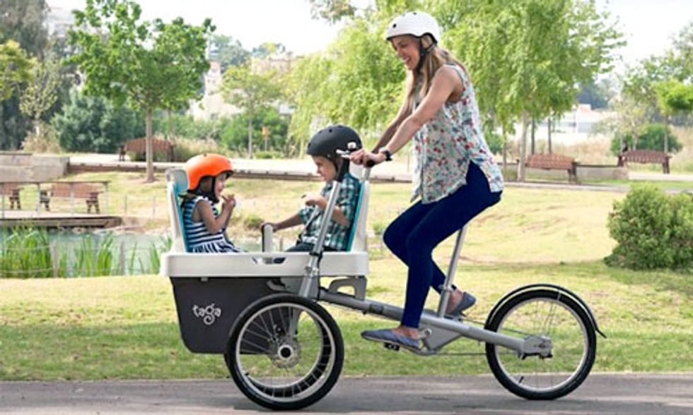Ultimate Family Bike Raises More Than $1 Million in 1 Day of Kickstarter Campaign