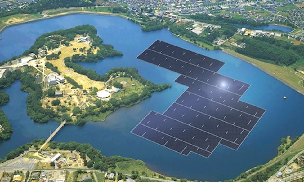5 Floating Solar Farms Helping Power the World