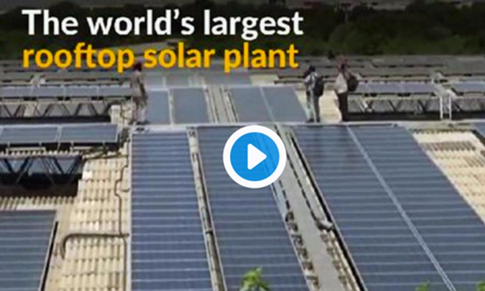 World's Largest Solar Rooftop System Goes Online, Will Power 8,000 Homes