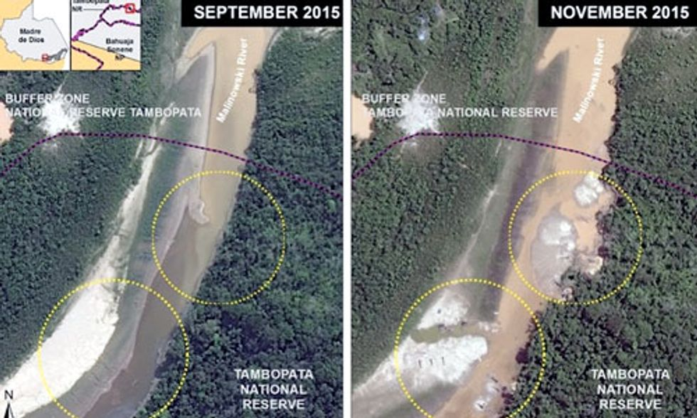 Peru Declares State of Emergency as Mercury Contamination From Illegal Gold Mining Poisons People and Planet