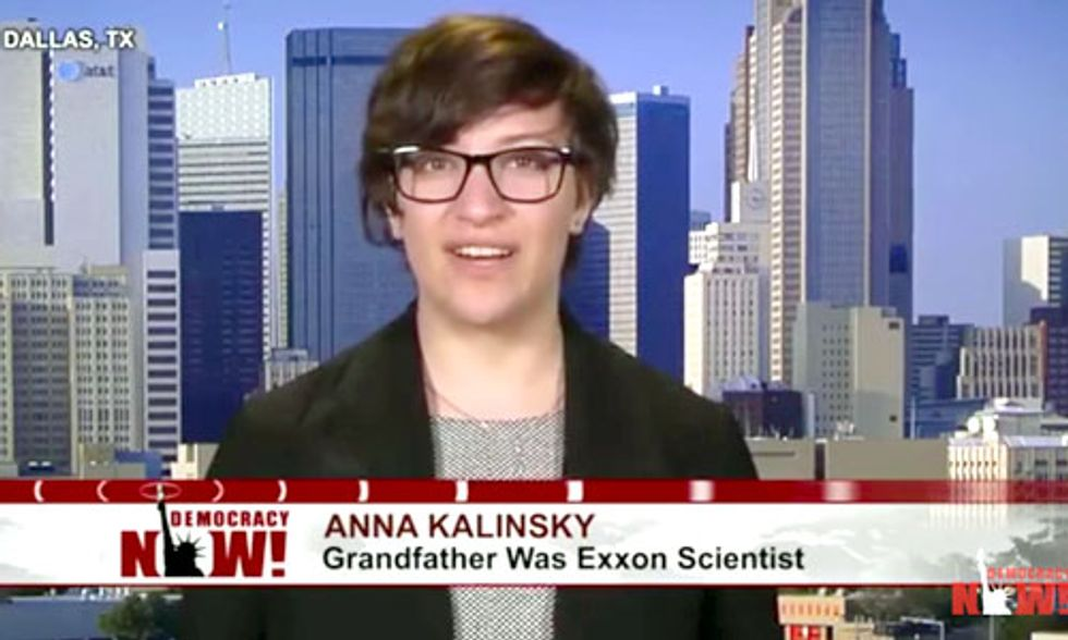 Granddaughter of Exxon Scientist Confronts CEO Over Funding Climate Denial