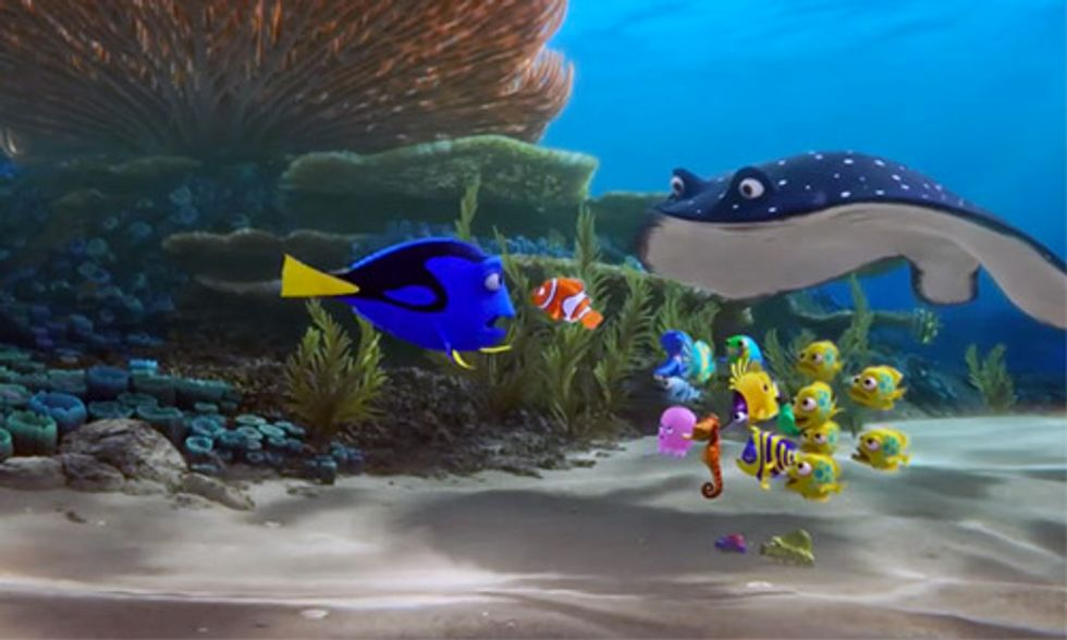 Could Pixar's 'Finding Dory' Have an Adverse Effect on Coral Reefs?
