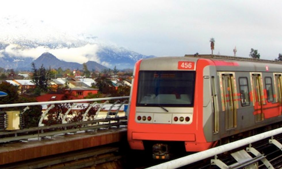 Santiago's Metro System to Become World's First to Be Powered Largely by Solar and Wind